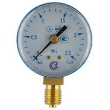 Монометр ARS кислород 2,5 МРа (резьба 12*1.5) предназначен для индикации выходного давления газа кислород В нашем интернет магазине Вы можете купить  Монометр ARS кислород 2,5 МРа (резьба 12*1.5) в Красноуфимске Артях, Ачите