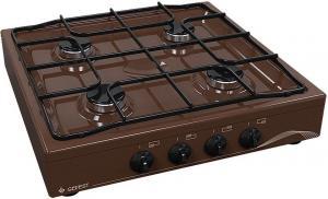 В нашем интернет магазине вы можете купить  плиту газовую настольную   GEFEST ПГЭ К17 коричневый  цвет  в Красноуфимске Артях Ачите.