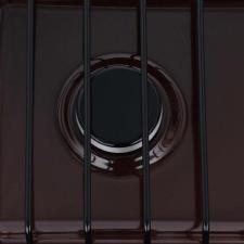 Плита газ. GEFEST ПГ 700-02 коричневый , 50х37 см, 2газ, крышка отсутствует, эмаль