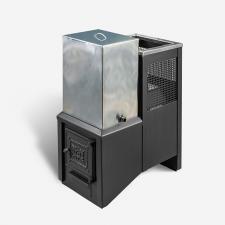 """В нашем интернет магазине Вы можете купить печь банную «Радуга""""  Радуга 25 Б ( бак отдельно 45 л (ПБ-25Б)  из стали толщиной 6 мм (под навесной бак 45л) в Красноуфимске Артях Ачите"""