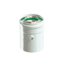В нашем Интернет магазине Вы можете купить COX610 Конденсатоотвод коаксиальный D60/100 конденсатоотводчик коаксиального дымохода 60/100 длиной 500 мм в Красноуфимске Артях Ачите