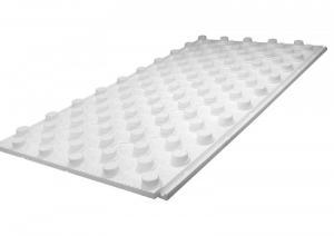 Плита ППС для теплого пола с фиксаторами 915x515 (толщина 30+20 мм, плотность 30 кг/м³)