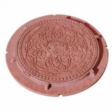 В нашем интернет магазине вы можете купитьлюк полимеропесчанный   для канализации  Люк полимерпесчанный 560х720х540х20 (красный),тип Лмн в Красноуфимске Артях Ачите