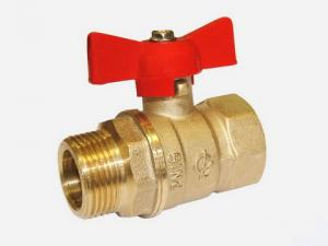 В нашем интернет магазине вы можете купить кран шаровый для отопления и водоснабжения  с ручкой  бабочка   внутренняя /наружняя  резьба 1/2  Кран шаровой DN-15 ПРАКТИК 121 ВР-НР рычаг Галлоп Новосибирск  в Красноуфимске Артях Ачите