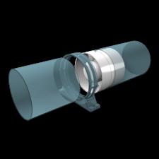 Эковент.Вентилятор осевой канальный PROFIT 6