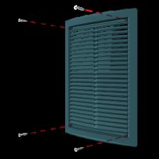 Эковент.Решетка цилиндрическая 1520 РЦ