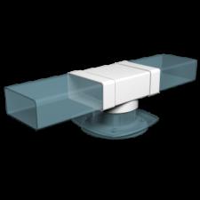 Эковент.Тройник плоский с фитингом 60х204 D=125 620ТФ12,5П