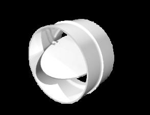 Эковент.Соединитель с обр.кл. D=125 12,5СКПО