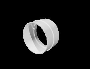 Эковент.Соединитель круглый D=125 12,5СКП