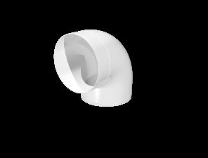 Эковент.Колено круглое D=100 10ККП