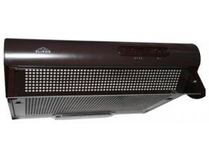 Вытяжка козырьковая ELIKOR Davoline 50П-290-П3Л коричневый, ширина 50 см, глубина 50 см, 290 куб.м/ч