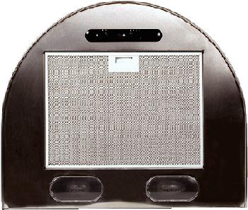 Вытяжка каминная ELIKOR Эпсилон 50П-430-П3Л медный антик/зол, ширина 50 см, глубина 50 см, 430 куб.м