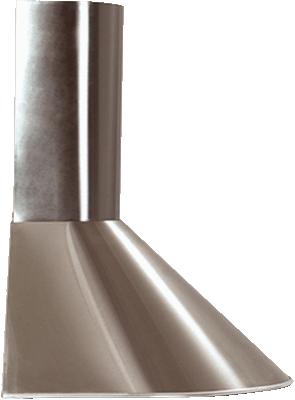 Вытяжка каминная ELIKOR Эпсилон 50П-430-П3Л белый/срб, ширина 50 см, глубина 50 см, 430 куб.м/час, 2