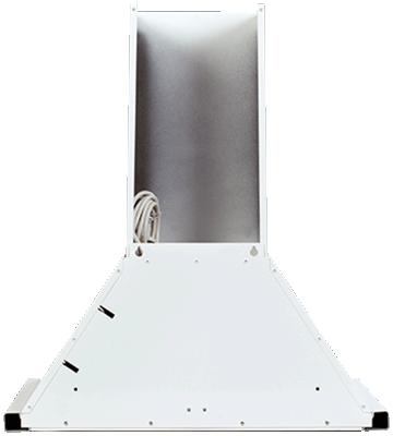 Вытяжка каминная ELIKOR Оптима 60П-400-КЗЛ белый, ширина 60 см, глубина 50,5 см, 650 куб.м/час, 225