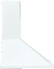 Вытяжка каминная ELIKOR Оптима 50П-400-К3Л белый, ширина 50 см, глубина 50 см, 430 куб.м/час, 225 Вт